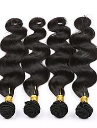 7A Brazilian Body Wave 4 Bundles Brazilian Virgin Hair Body Wave Human Hair Brazilian Hair Weave Bundles