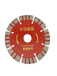 scie à diamant, le marbre a vu diamètre lame externe: 114mm), diamètre intérieur: 20 (mm)