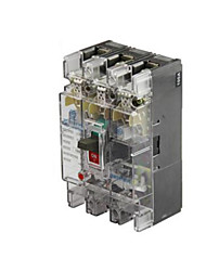 Transparent Plastic Case Circuit Breaker(Release Current Rating: 100 (A))