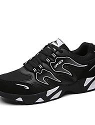 Femme-Sport-Bleu / Orange / Noir et rouge / Noir et blanc-Talon Plat-Ballerines-Sneakers-Tulle