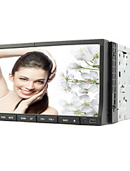 7-inch 2 Din TFT Screen In-Dash Car DVD Player With Bluetooth,Navigation-Read GPS,iPod-Input,TV
