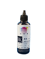 Jinzhuzhe's Straight-Coated Pigment Printer Free Heating CISS Black Ink 100ML