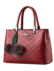 Women Cowhide Formal / Wedding / Office & Career Tote
