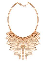 Collier Pendentif de collier Bijoux Doré Alliage Soirée 1pc Cadeau