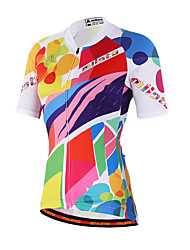 Miloto® Cycling Jersey Women's Short Sleeve BikeBreathable / Quick Dry / Moisture Permeability / Front Zipper / Sweat-wicking / Soft /