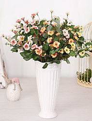 Hi-Q 1Pc Decorative Flower The Jasmine Wedding Home Table Decoration Artificial Flowers