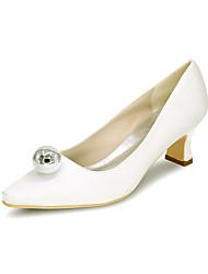 Women's Heels Spring / Summer / Fall Heels / Square Toe Silk Wedding / Party & Evening