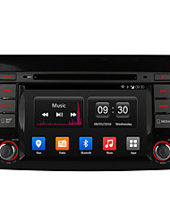 "ownice 7 ""1024 * 600 16g rom Android 4.4 Quad Core carro dvd player gps de rádio para Fiat Bravo"