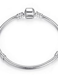S925 Sterling Silver Fine Jewelry Chain Bracelet