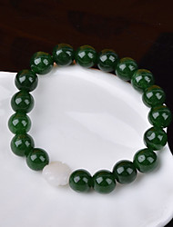 Strand Bracelets 1pc,Green Bracelet Fashionable Circle 514 Agate Jewellery Christmas Gifts