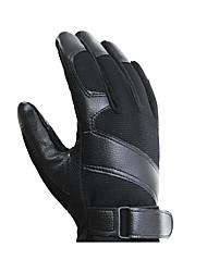 sports d'hiver chauds des hommes à cheval avec des gants en peluche épaissie gants de moto non collectrices
