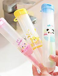 caixa de escova de dentes escova de dentes escova de dentes portátil curso da suspensão