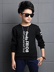 Tee-shirts Boy Imprimé Décontracté / Quotidien Coton Hiver Noir / Rouge