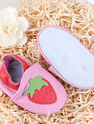Girl's Loafers & Slip-Ons Fall Winter Comfort Leather Casual Flat Heel Others Pink Others