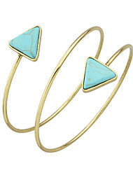 Fashion Imitation Turquoise Cuff Upper Arm Bracelets