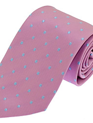 Classic Men Polyester Silk Neck Tie for Wedding Party