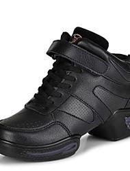 Zapatos de baile(Negro) -Moderno-No Personalizables-Tacón Bajo