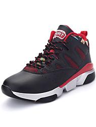Masculino-Tênis-Conforto / Arrendondado-Rasteiro-Azul / Preto e Vermelho / Preto e Branco-Couro Ecológico-Para Esporte
