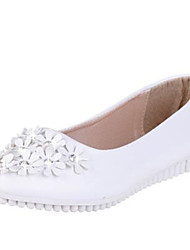 Women's Flats Spring / Summer / Fall / Winter Comfort / Flats Leatherette Office & Career / Casual Flat Heel Flower