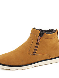 Men's Boots Spring / Fall / Winter Combat Boots Nappa Leather Outdoor / Athletic / Heel Sneaker