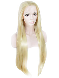 IMSTYLE 30 Beautiful Extra Long Straight Synthetic Lace Front Wigs