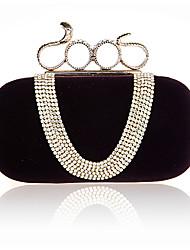Women  European Fashion Handbags Suede Noble Bride Banquet/ Metal Formal / Event/Party / Wedding Evening Bag