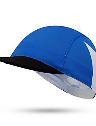 Boné de Ciclismo Chapéu Moto Respirável / Filtro Solar Unissexo Azul Terylene