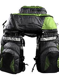 Sac de VéloSacs de Porte-Bagage / Sac de Porte-Bagage/Double Sacoche de Vélo Respirable / Téléphone/Iphone Sac de Cyclisme NylonSacoche