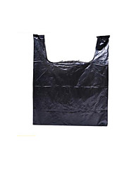 Black Plastic Shopping Bags  100/ Package
