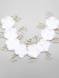 Women's Rhinestone / Imitation Pearl / Chiffon Headpiece-Wedding / Special Occasion Headbands 1 Piece