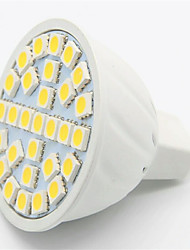 SMD5050 5w 29led gu10 / ampoule verlichting lampe MR16 LED Spot (AC220-240V)