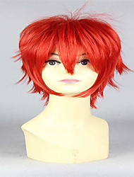 парик Костюм Парики для женщин Красный Карнавальные парики Косплей парики
