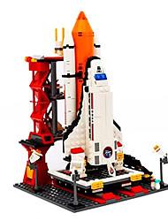 Spielzeuge Für Jungs Action Figur Die Blöcke Model & Building Toy Space Ship ABS Alles Regenbogen