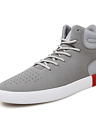 Men's Shoes Casual/Party/Student for Sports And Leisure Fashion Suede Leather Medium cut Sneakers Board Shoes