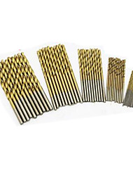 Round Shank Twist Drill Bit (1.0Mm 1.5Mm 2.0Mm 2.5Mm And 3.0Mm Each Model 10Pieces Totle 50 Pieces)