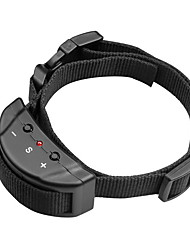 Bark Collar Adjustable/Retractable Anti Bark Electronic/Electric Shock/Vibration Solid Nylon