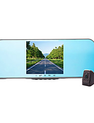 Le Drive LX2S Rear View Mirror Driving Recorder Double Lens 5 Inches High Definition Night Vision Camera