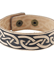 Wide Pu Leather Bangles