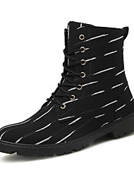 Men's Boots Spring / Fall / Winter Work & Safety / Combat Boots Cowhide Outdoor / Athletic / Casual Black /