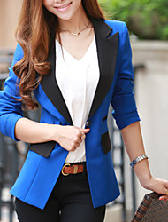 Frauen Kontrast Tailored Collar Blazer