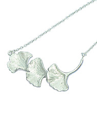 925 Silver Flower Pendant Necklaces
