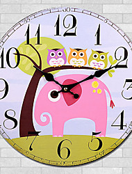 1PC Cartoon Quartz Clock Wall Clock Modern Personality Artistic Wall Clock Sitting Room Tables