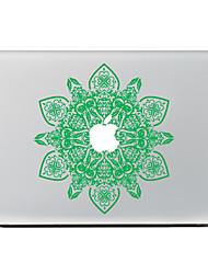 grüne Blume Dekorhaut Aufkleber Aufkleber für macbook Luft / pro / Pro mit Retina