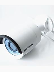 Hikvision ds-2cd2010f-i H.265 caméra ip 1.3mp 4mm poe balle avec fente pour carte poe / sd / vision nocturne
