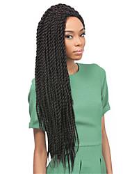 Box Tranças Tranças torção Extensões de cabelo 12-22 Kanikalon 12 costa 85-120 grama Tranças de cabelo