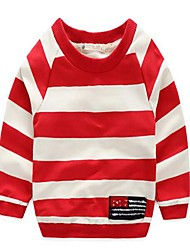 Boy's Casual/Daily Striped Hoodie & SweatshirtCotton Spring / Fall Multi-color