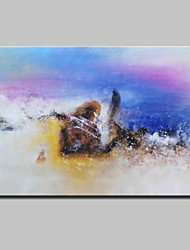 Hand Painted Abstract Oil Painting On Canvas Wall Art Pictures For Home Decoration With Stretched Framed