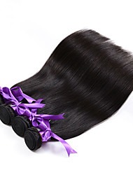 Peruvian Virgin Hair 4 bundles Silk Straight Unprocessed Human Hair Weft Natural Color Can Be Dyed