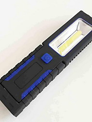 Work Light LED Flashlight Two Tranches Three AAA Batteries(Not Included) Waterproof Outdoor Lighting