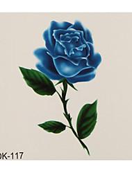 1 Tatouages Autocollants Séries de fleur Tatouage Temporaire Tatouages temporaires